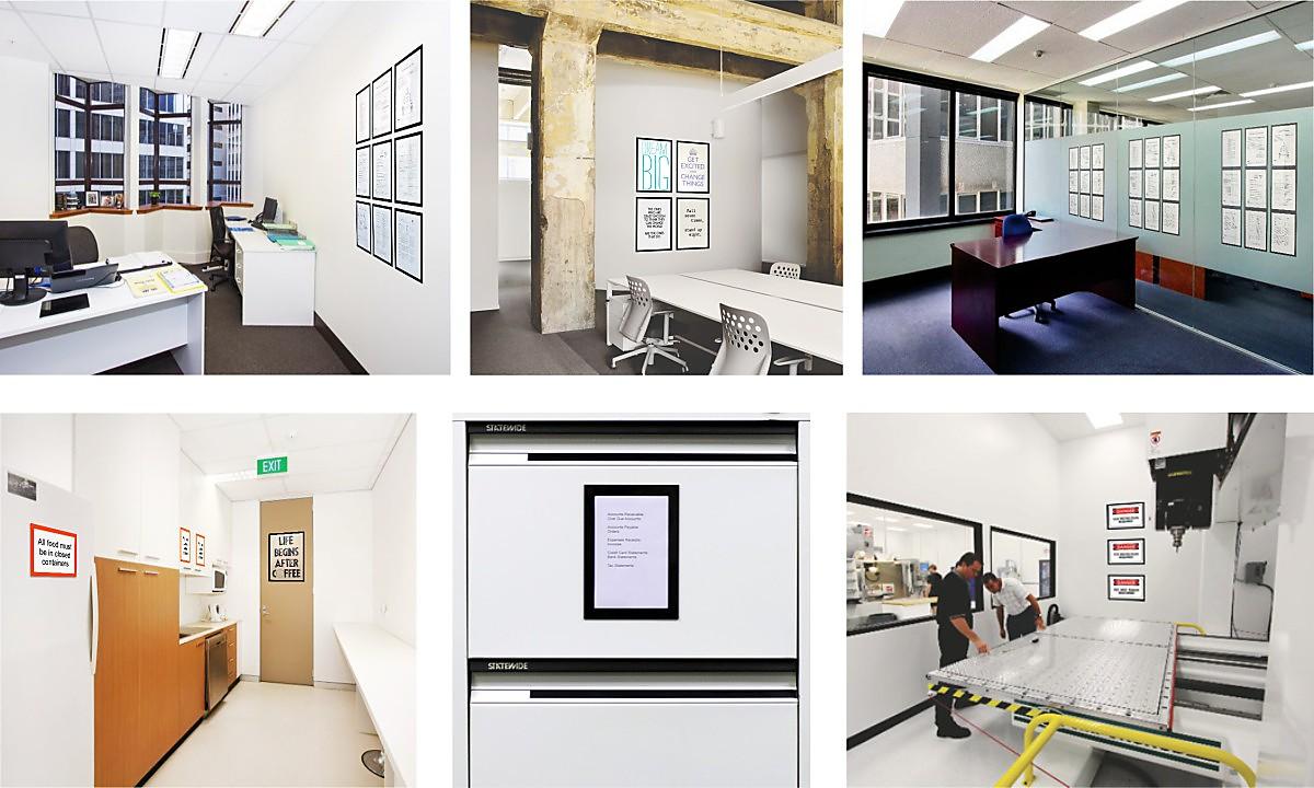 SheetEzi Magnetic Frames for A3 A4 A5 A6 paper sheets | Fridgi ...